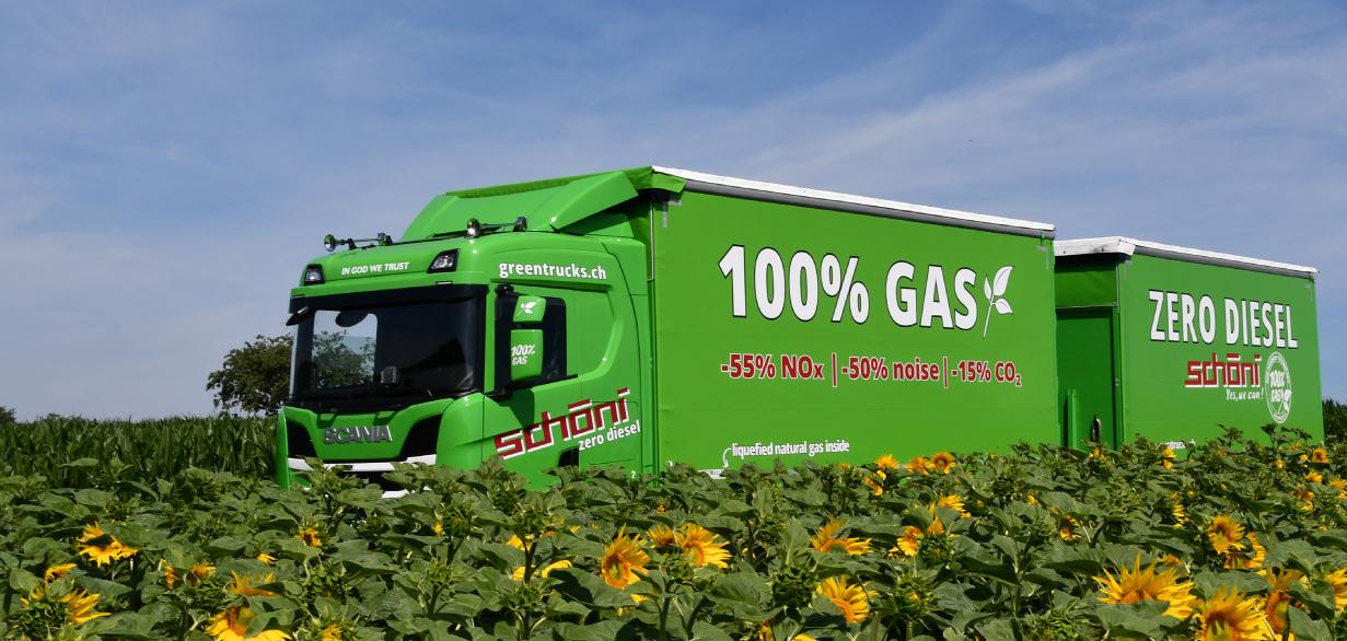 Schöni Nachhaltigkeit - Green Trucks