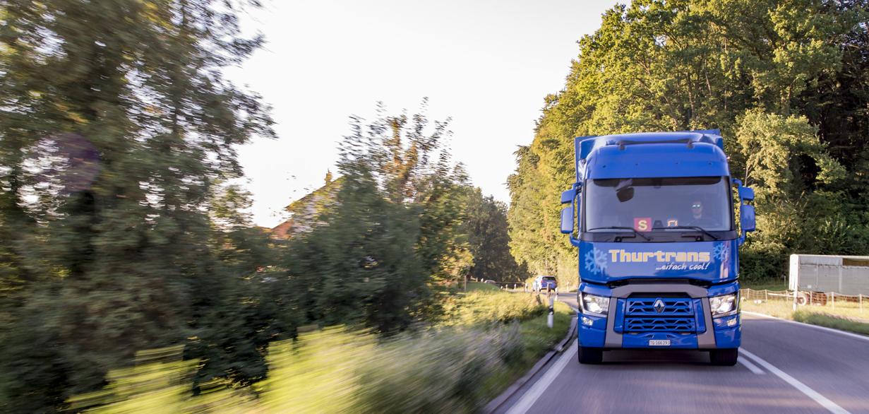 Thurtrans gekühlt Transport