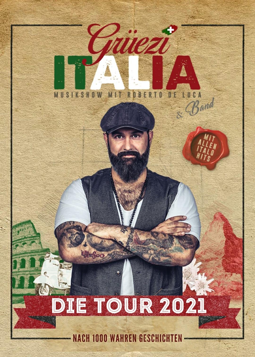 Grüezi Italia Tour mit Roberto De Luca & Band