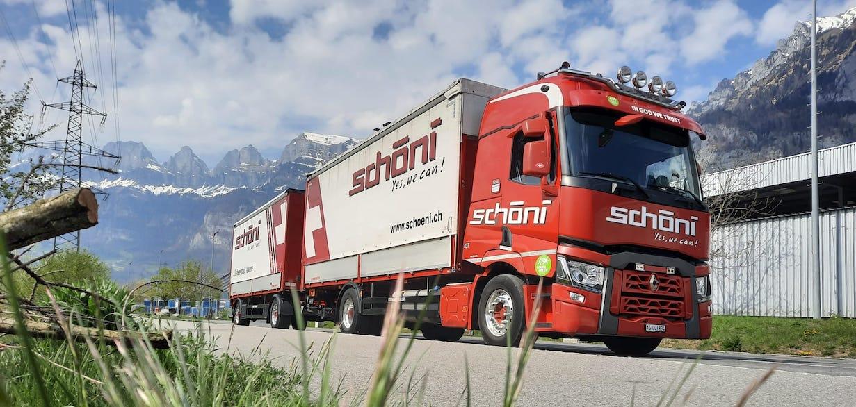 Schöni National Transport ungekühlt