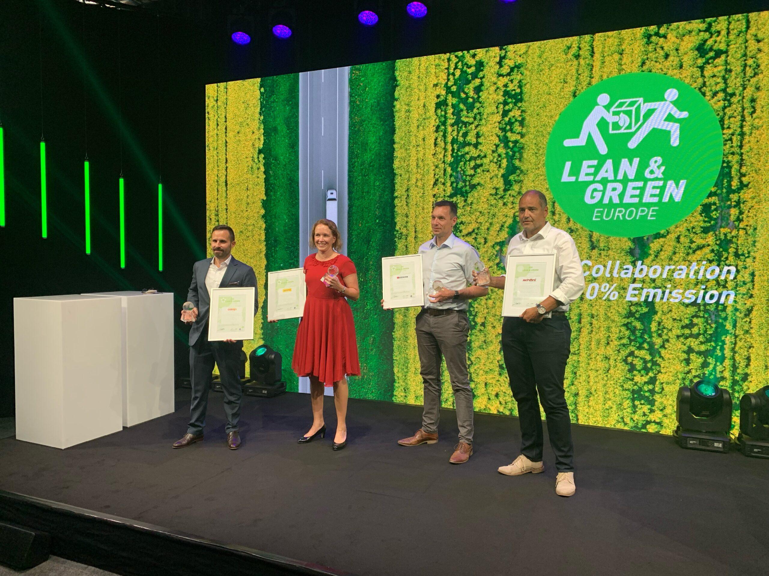 Lean and Green Award Daniel Schöni