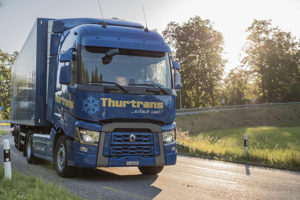 Lastwagen Thurtrans