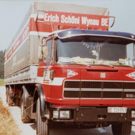 Erich Schoeni Wynah LKW