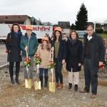Familie Schöni Rothrist Spatenstich mit LKW
