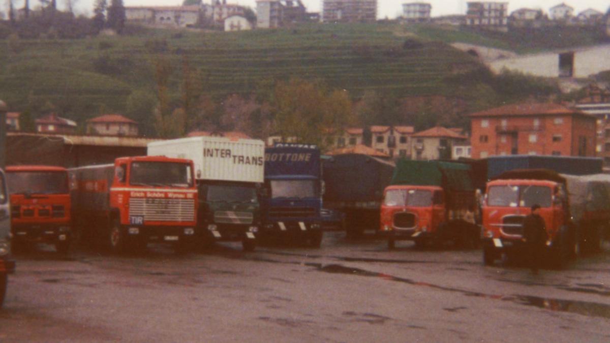 1971 Schöni Transport AG Fahrzeuge