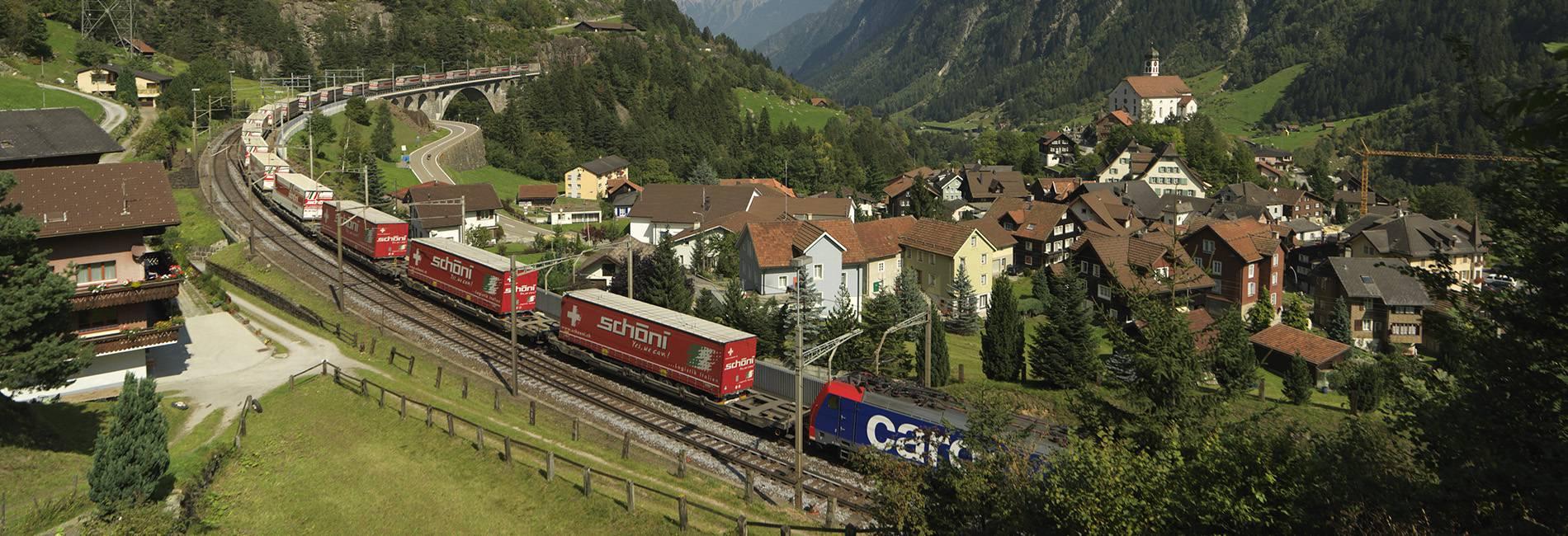 Schöni Transport AG International HUPAC Zug