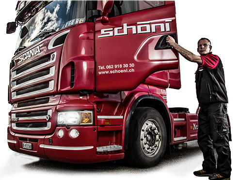 Chauffeur Schöni Transport AG Scania