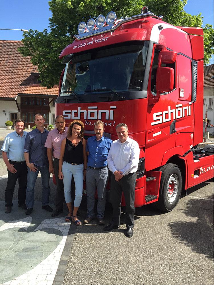 Schöni Transport GL und neue Renault
